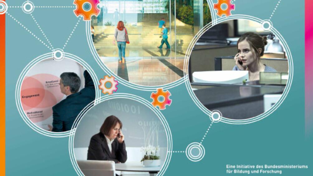 """Link zum Übergreifenden Unterrichtsmodul """"Arbeitswelten der Zukunft"""""""