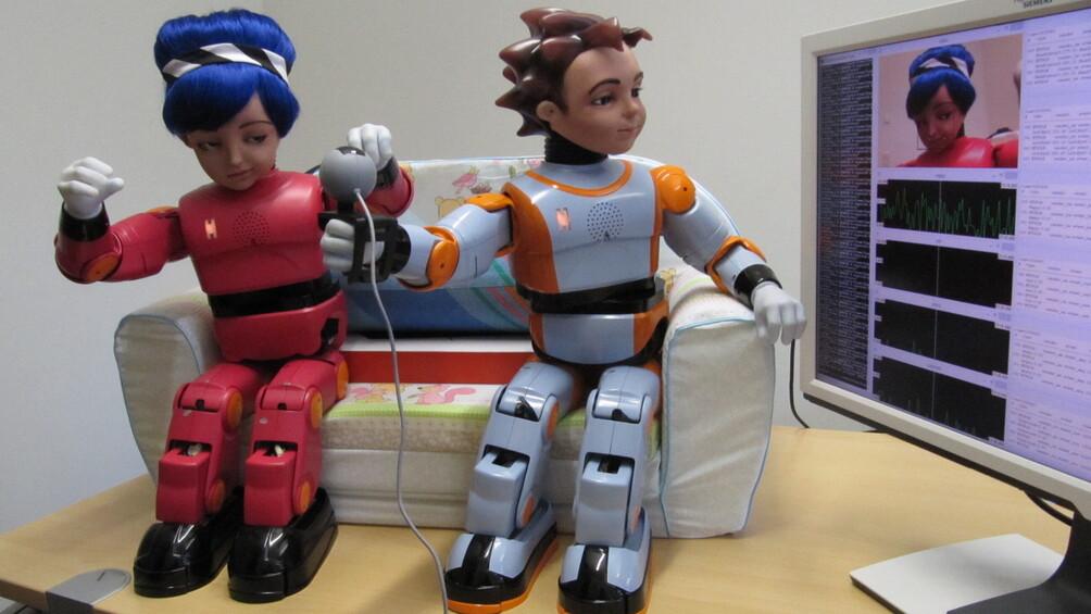 Link zum Arbeitsblatt Erfinde einen Roboter!